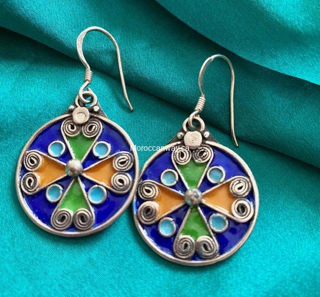 Authentic Silver Earrings