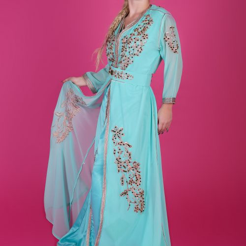 Green Fashion caftan