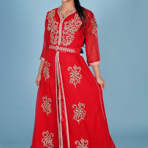 Red fashion Caftan