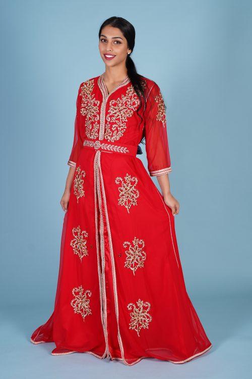 Red fashion Caftan