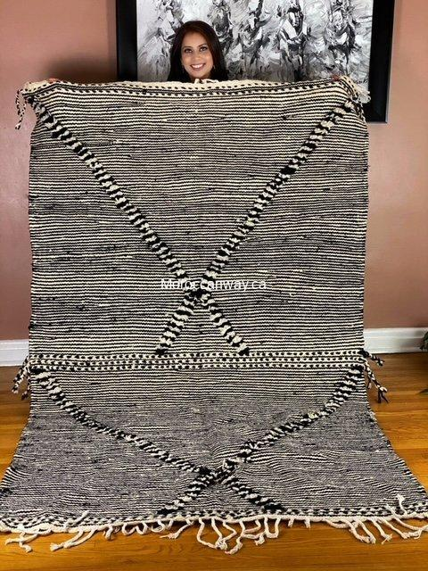 Zanafi Moroccan Rug, Whool Carpet