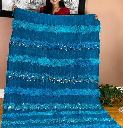 turquoise handira