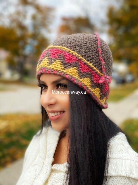 Hand Knitted beanie