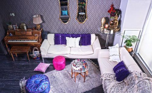 purple handira ambiance